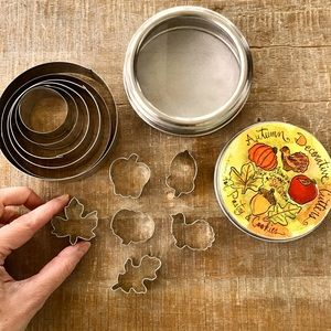 Decorative Cookie Cutters | Set of 12